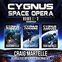 Cygnus Space Opera: Books 1 to 3: Humanity Comes Home Audiobook by Craig Martelle Narrated by Chris Abernathy