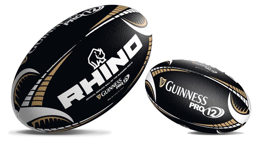 Rhino Guinness Pro12 Sports Match Play – Balón de Rugby, Color ...