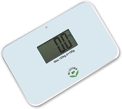 Amazon Com Newlineny Auto Step On Super Mini Travel Bathroom Scale Sbb0638sm White Health Personal Care