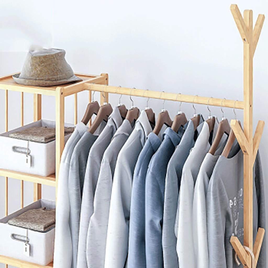 Amazon.com: Gaoye - Perchero de pared de madera maciza para ...