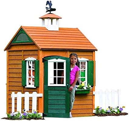 Backyard Discovery Cozy Wooden Playhouse Reviews