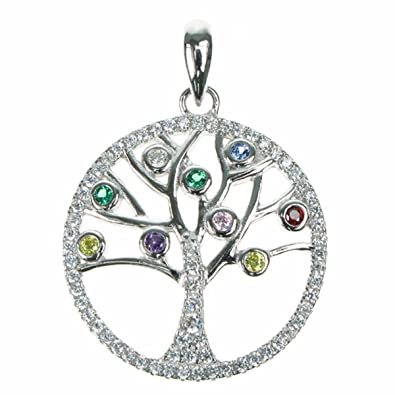 Intertwined Tree of Life Pendant 925 Sterling Silver