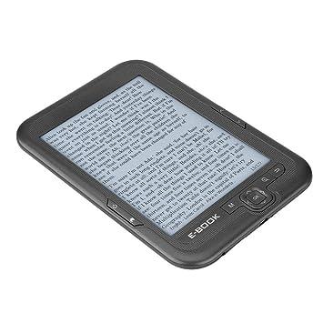 Zoternen E-Book Reader Pantalla de Tinta de Tinta Electrónica de 6 ...