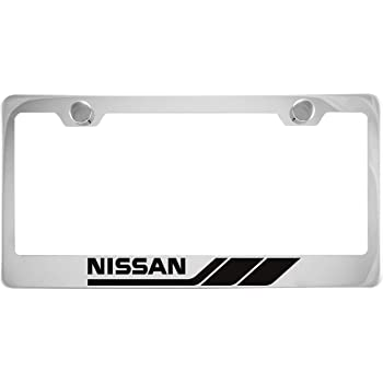 cheap Nissan Maxima Chrome License Plate Frame with Caps ...