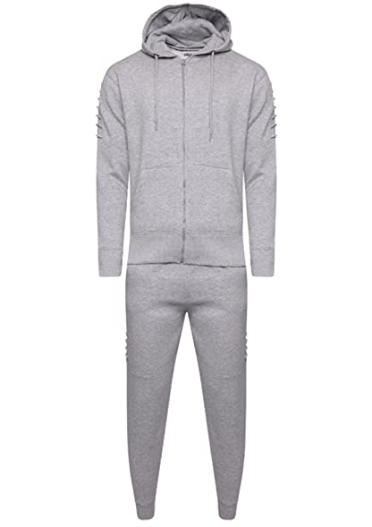 Mens Boys Full Tracksuit Corduroy Design Joggers Slim Fit Ribbed Trouser Hoodies