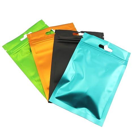 Amazon.com: Partstock - 100 bolsas de aluminio para ...