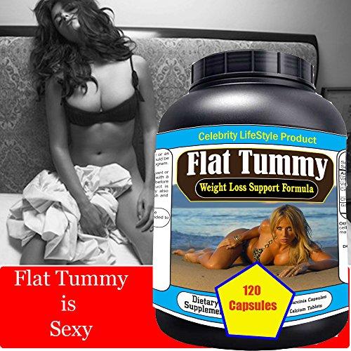 "Celebrity's ""Flat Tummy"" #1 Weight Loss Diet Pills l Extreme Fat Burner l Flat Belly l Slim Body l Six Abs Packs l Most Potent Rapid Weight loss program l 120 Pills/Bottle l Lowest Price l Made In USA"