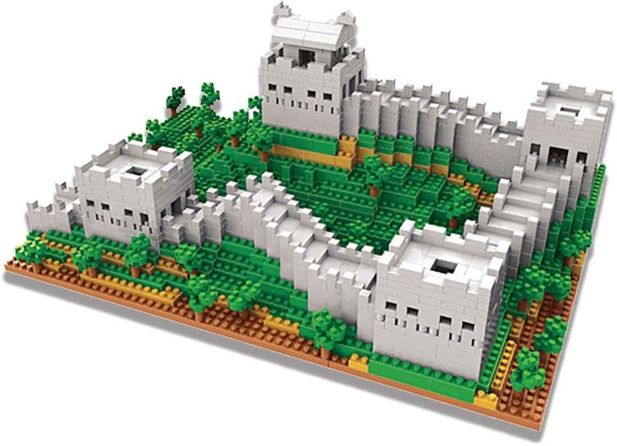 1719PCS NeoLeo GreatWall of China Building Blocks Educational Bricks Castle Building Sets Gift