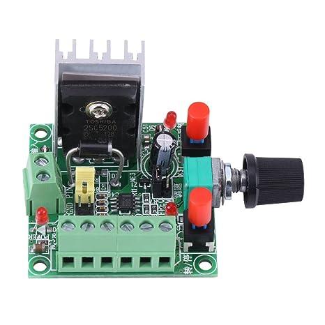 fc4b0fad2db Generador de Señal de Pulso PWM Tablero de Regulador de Impulsión de Motor  Paso a Paso  Amazon.es  Bricolaje y herramientas