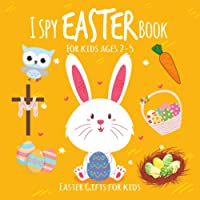Easter gifts for kids: I Spy Easter book for kids ages 2-5: I spy with my little eye   Easter activities for kids   Fun…