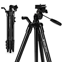 "Camera Tripod, Lightweight Flexible Tripod, Fotopro 48"" Tripod with Wireless Remote for DSLR Cameras, Smartphones and Gopro, Quick Release Plate, Tripod Bag for Camera, Smartphone and Gopro,Black(DIGI-3400 PRO)"