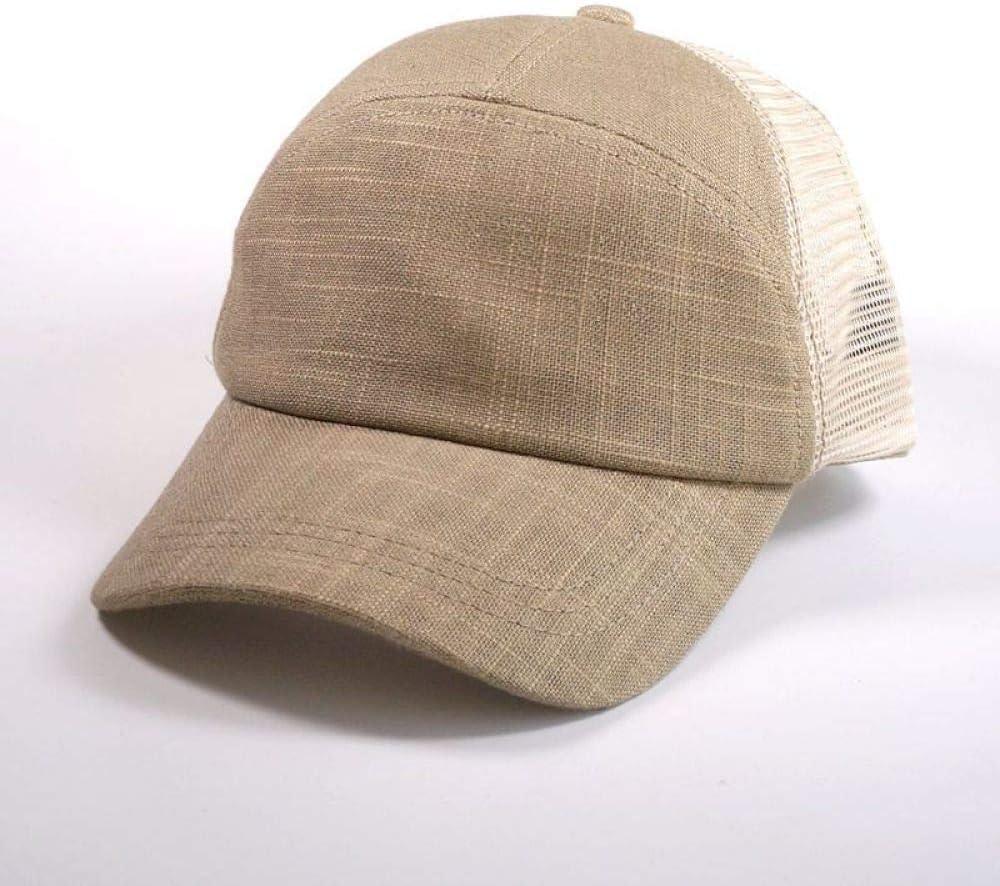 woyaochudan Fábrica de Malla de Lino Transpirable Gorra de béisbol ...
