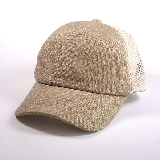 sdssup Malla de Lino Transpirable Gorra de béisbol Gorra código de ...