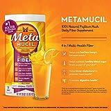 Metamucil Orange Sugar Smooth Texture Powder 48.2oz/114 Doses (Pack of 2)