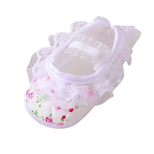 Zapatos Bebe Niña Primeros Pasos, ❤ Zolimx Recién Nacido Niña ...