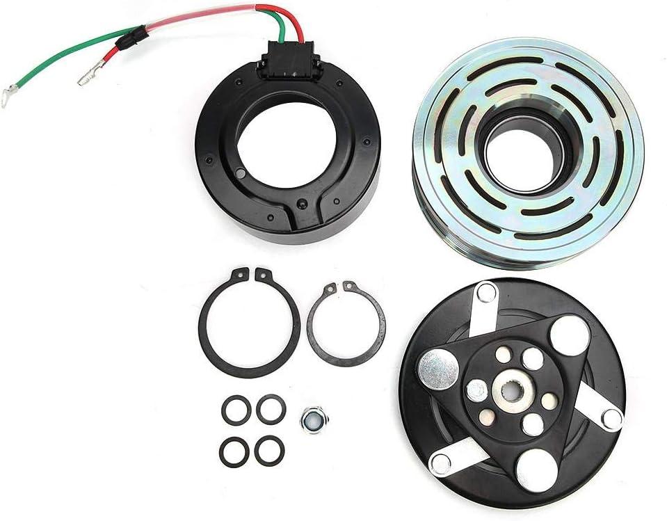Kit de embrague de compresor de coche, conjunto de polea de compresor de aire acondicionado A/C automático 38800RNAA010 apto para CR-V/Accord