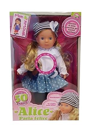 DETTALGROS Mon Amour Muñeca Alice Parla Felice: Amazon.es: Bebé