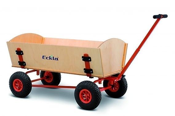 ECKLA XXL Fun Bollerwagen Trailer Mit Hinterachslenkung: Amazon.de: Garten