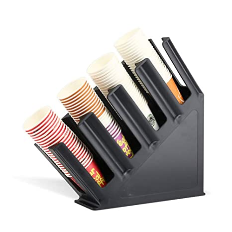 Amazon.com: GFYWZ Paper Cup Holder Dispenser for Coffee Drink Cups ...