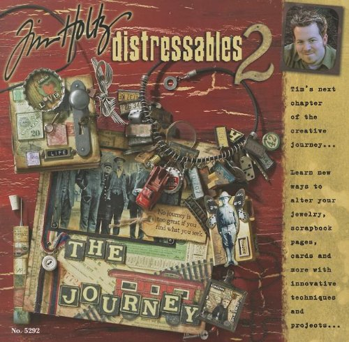 Tim Holtz Book Distressables 2