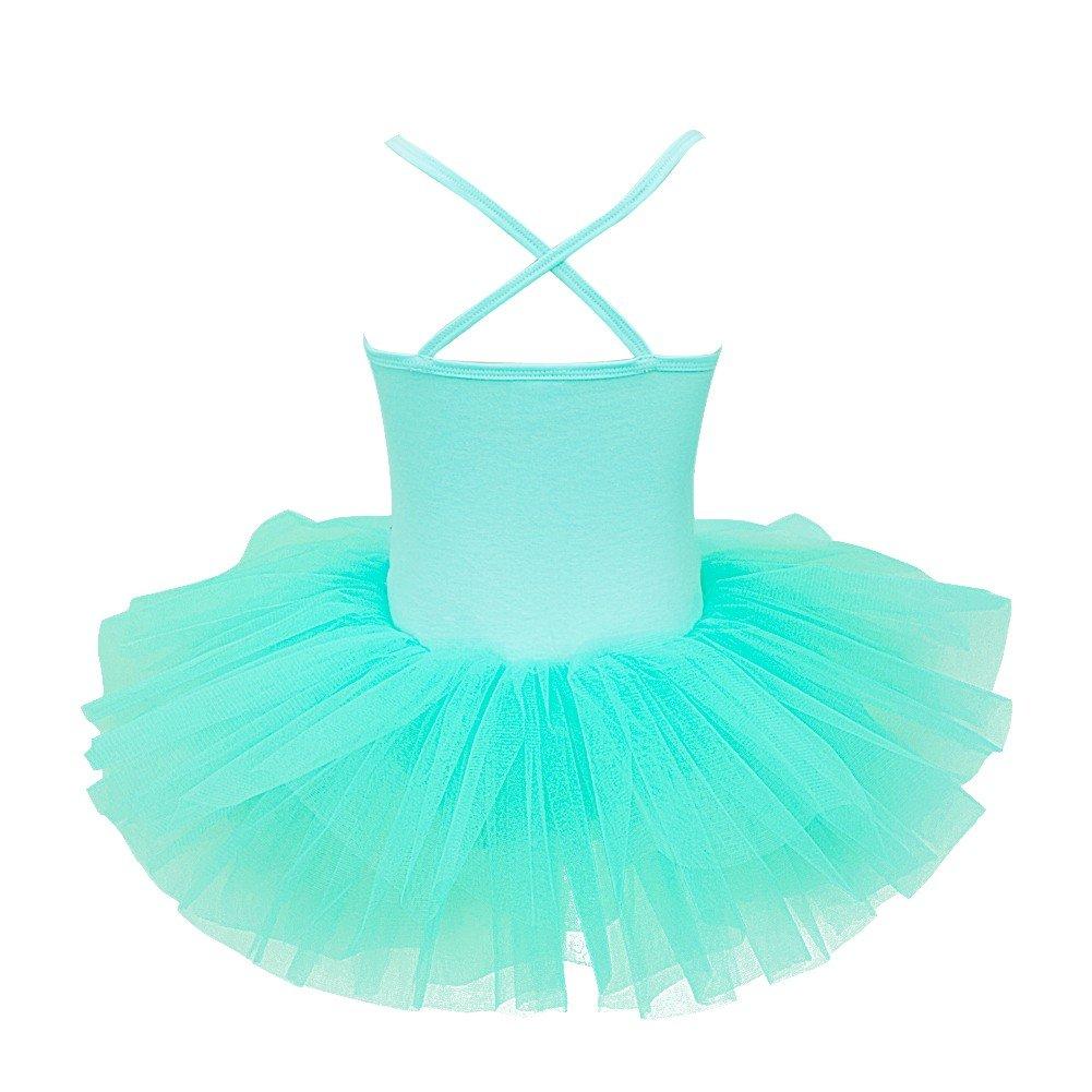 19076019d iEFiEL Kids Girls  Sequins Ballet Tutu Dress Gymnastic Leotard ...