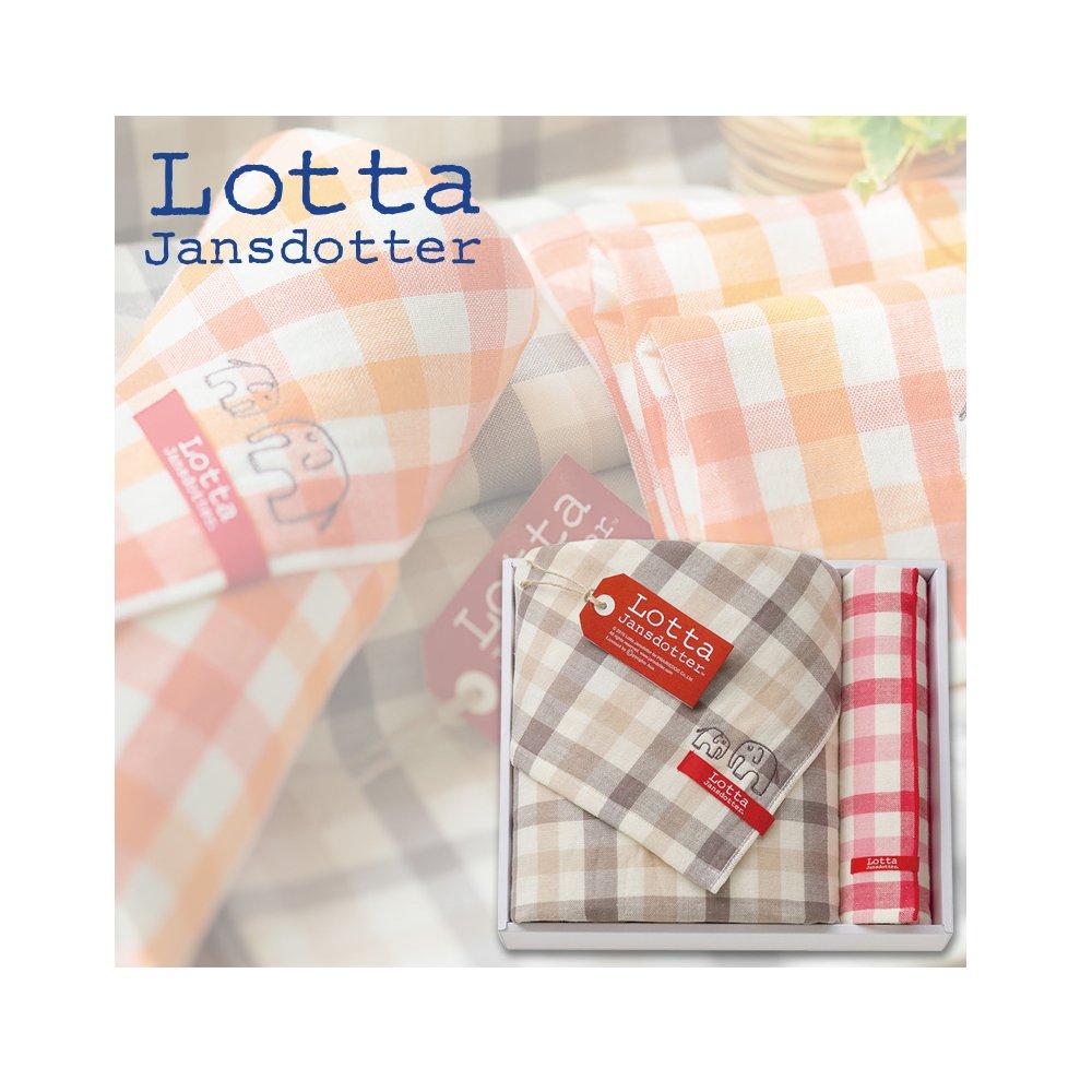 f503276aac426 Amazon|Lotta Jansdotter タオルギフトセット 北欧デザイン 今治タオル (バス・ハンカチ)|タオルギフトセット -  ホーム&キッチン オンライン通販