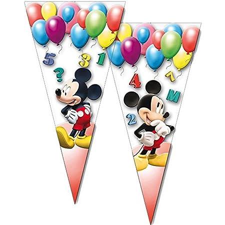 10 bolsas de fiesta Mickey Mouse de Disney//Cono/Cumpleaños ...