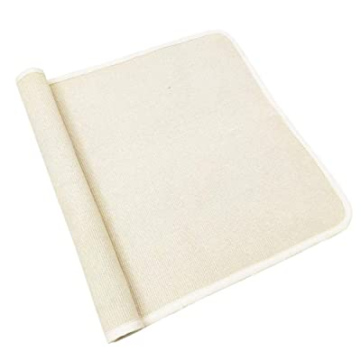 "USTIDE Montessori Cotton Work Rugs Children Playing Mat Working Rug Small Hand Woven Rug (27.5""x43.3"", Off-White): Home & Kitchen"