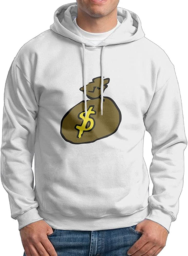 Jessicagf1990s Gift For Money Bag Mens Printed Hoodie