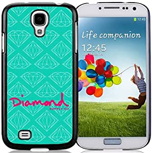 Easy Use,Unique Galaxy S4 Case Design with Diamond Supply Black Case for Samsung Galaxy S4 SIV S IV I9500 I9505