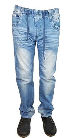 BOY STUDIO Bequeme Schlupfjeans, Jeans mit Rundum Gummizug, 28W 32L,  J2998.41e 4c104854ad