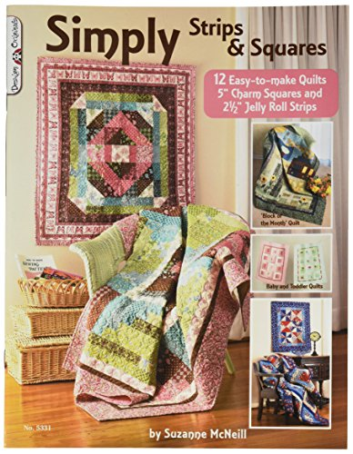 Design Originals Book, Simply Strips and Squares (Design Simply Originals Strips)