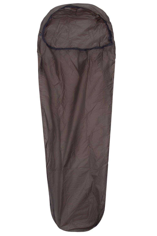 Mountain Warehouse Saco de Dormir Camping Bivvy - 225cm x 75cm, Compacto, cómodo, Impermeable, Costuras Selladas, con su Bolsa de Almacenamiento - niños y ...
