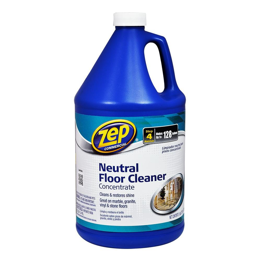 ZEP ZUNEUT128 Neutral Floor Cleaner Concentrate 128 Ounces by Zep Commercial