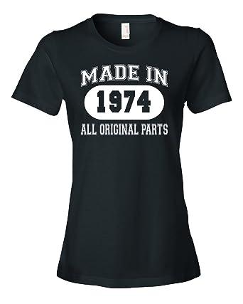 1974 t shirt ladies