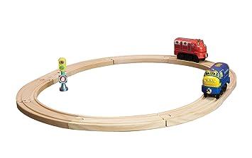 Amazon.com: Chuggington Wooden Railway Beginner\'s Set: Toys & Games