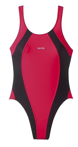 510848e3e202 Beco Damen Badeanzug Badekleid-Basics  Amazon.de  Sport   Freizeit