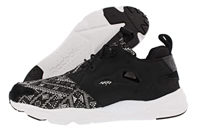 5a4be162b8639b Image Unavailable. Image not available for. Color  Reebok Womens Furylite  GT Black White Shell Purple Running