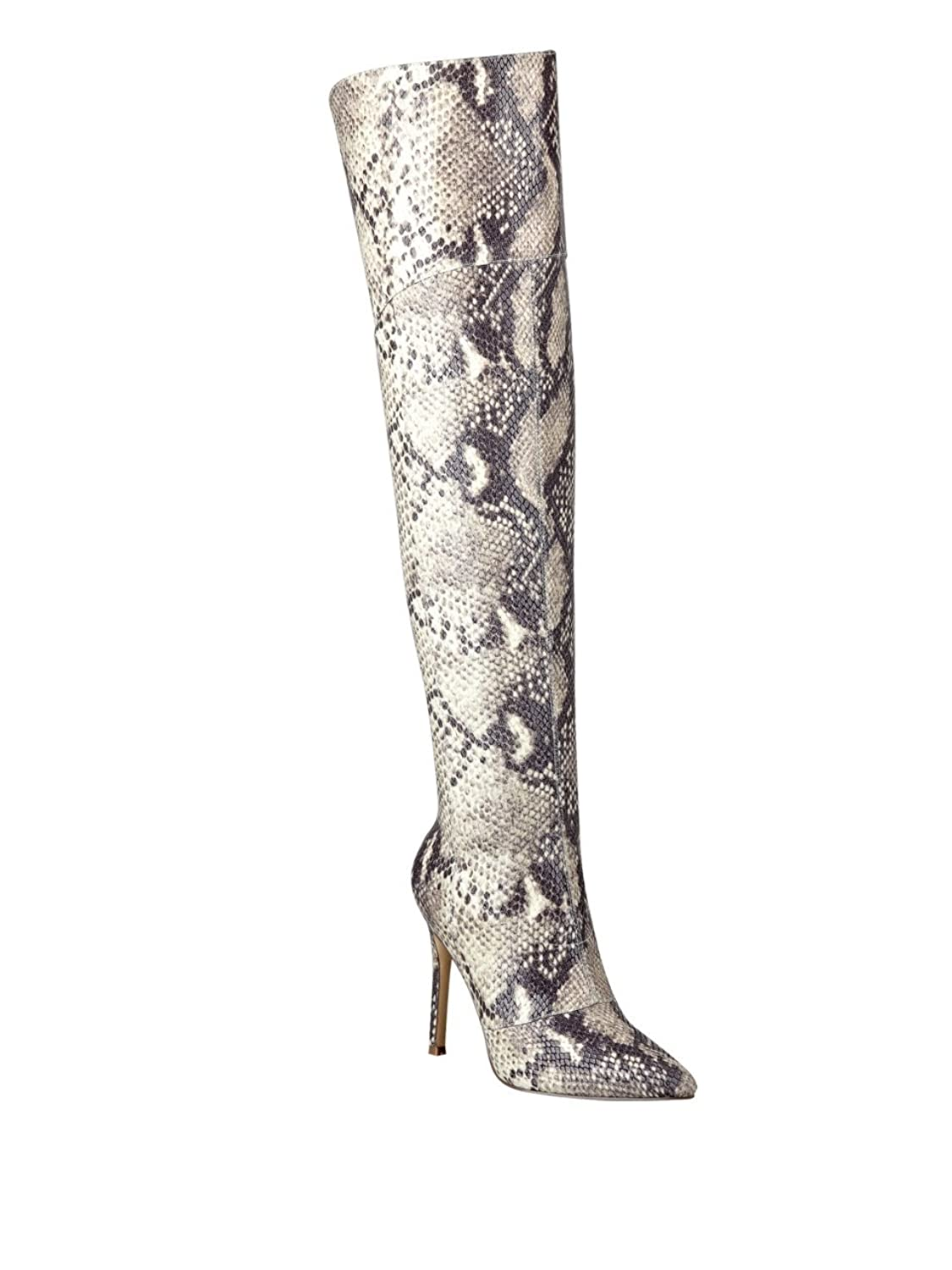 Guess Naddy Over The Knee Boots Heels Wanita Suede 274