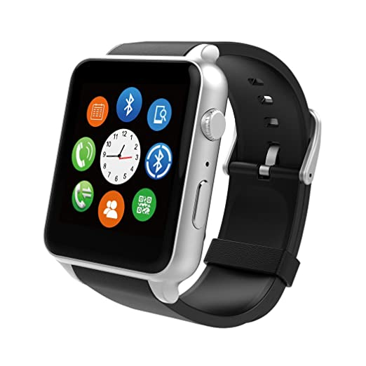 26 opinioni per Dokpav® KING-WEAR GT88 Orologio Intelligente Smart Watch IP57 Impermeabile 2.5D