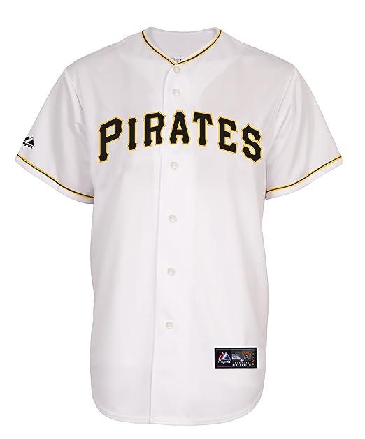 low priced 85555 423c4 Amazon.com : MLB Pittsburgh Pirates Home Replica Jersey ...