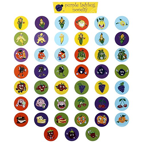 45 Sheet Scratch and Sniff Stickers For Kids Mega Variety ...