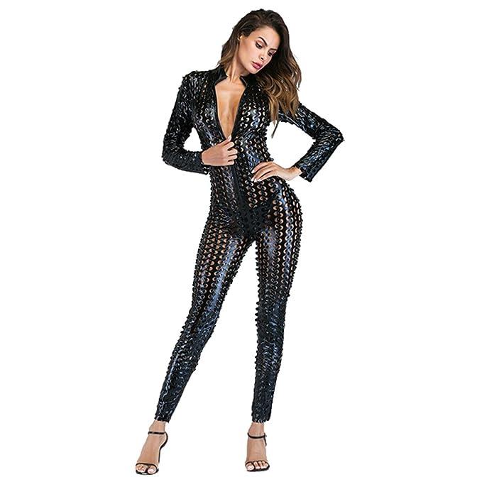 Amazon.com: Wonder Pretty - Mono de piel para mujer: Clothing