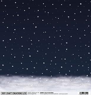 6 sheets Hunkydory Snowfall Acetate