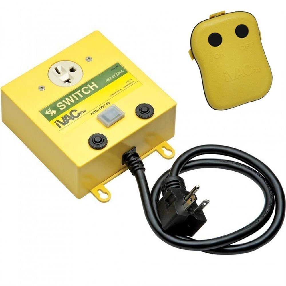 iVAC PRO 240-Volt Remote Control for Dust Collectors by iVAC
