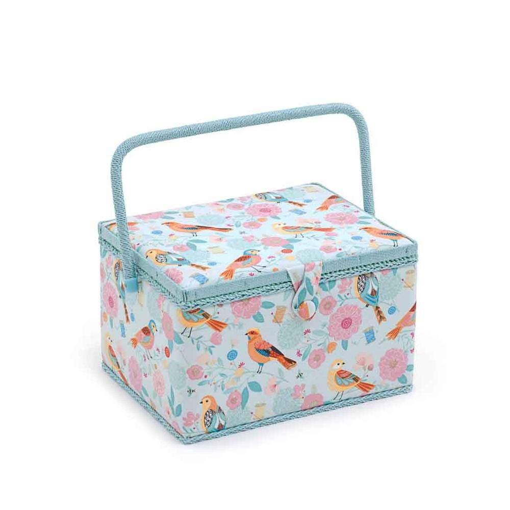 Hobby Gift 'Birdsong' Large Rectangle Sewing Box 23.5 x 31 x 20cm (d/w/h) 4337015812