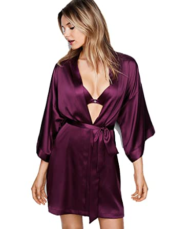 c1052edf77a Victoria  s Secret New! Very Sexy Satin Kimono Kir (Medium Large) at ...