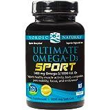 Nordic Naturals - Ultimate Omega-D3 Sport, Supports Healthy Bones and Immunity, 60 Soft Gels (FFP)