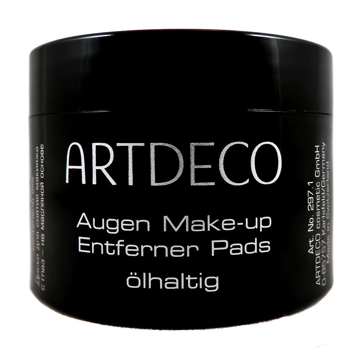 Artdeco Eye Makeup Remover Pads - oily, 1er Pack (1 x 60 Stück) 1er Pack (1 x 60 Stück) 4019674029718