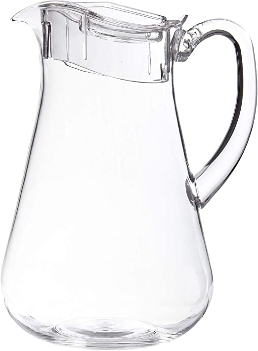 Amazon Com Stori Clear Plastic 64 Ounce Pitcher With Lid Carafes Pitchers